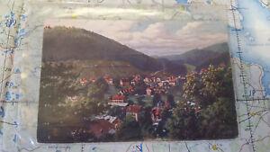 Deutschland Frank Wildbad Rennbachtal Ansichtskarte Postkarte 4967 Sammeln & Seltenes