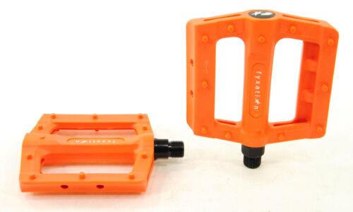 Fyxation Gates Slim Bicycle Pedals Orange