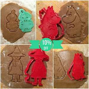 The-Moomins-Collection-cookie-cutters-4pcs-Plastic-3d-printed-PLA
