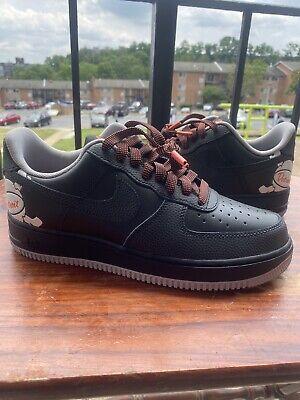 New Nike Air Force 1 One Low LV8 CD7789-001 Black City Pride Detroit Away c1