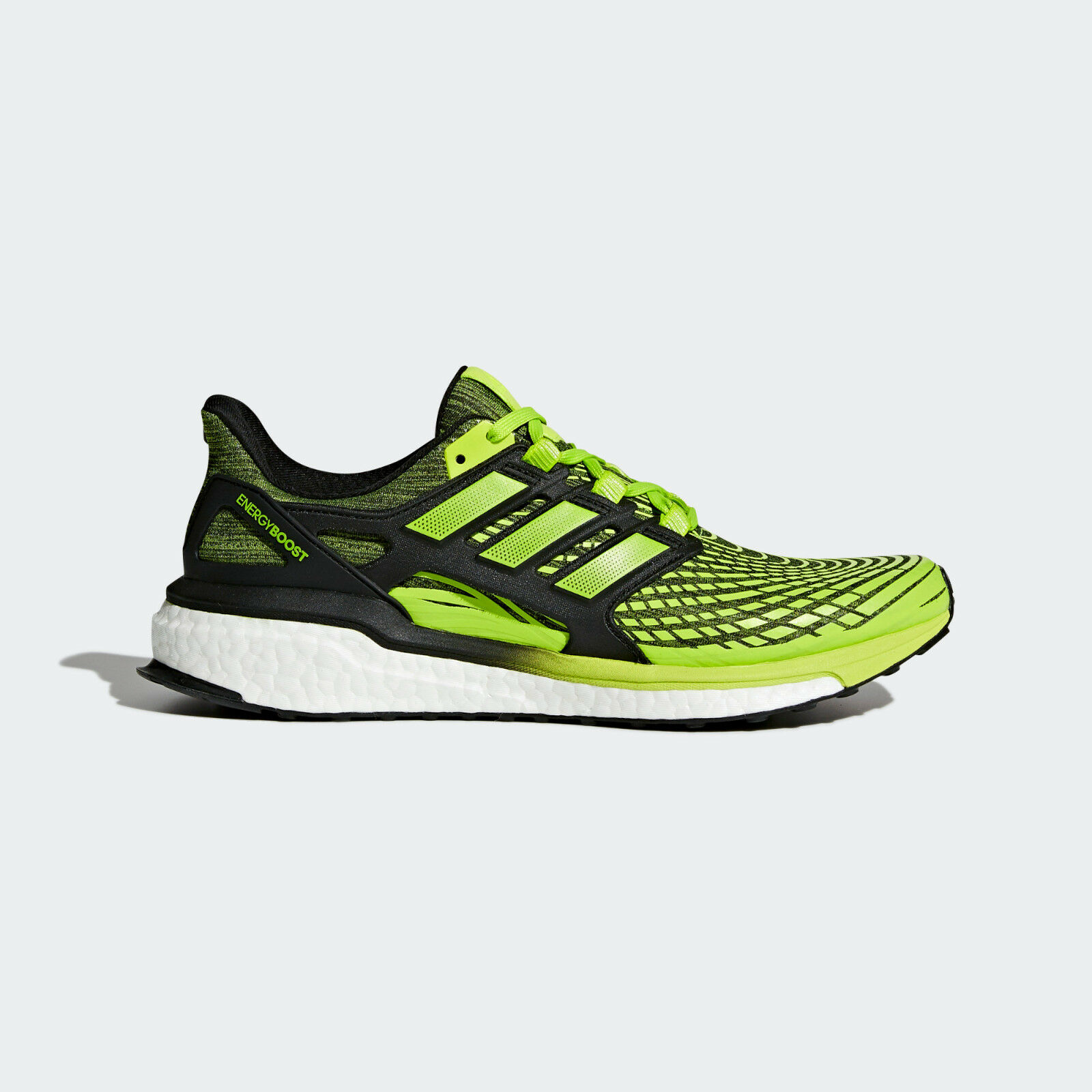 Mens Adidas Energy Boost Slime Green Sport Athletic Running shoes CP9542 10-12.5