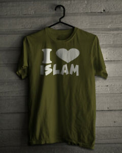 Sur S D'origine Nouveau M Titre Femme L Afficher Xxl T Le Homme Love Islam I Allah Shirt Xl Musulman Haut Détails Dieu sthCQdxr