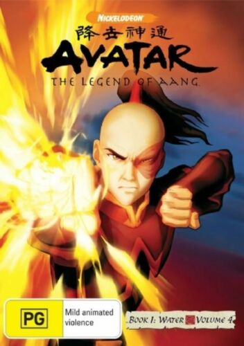 1 of 1 - Avatar The Legend of Aang: Book 1 Water - Volume 4..R4..Anime - NEW  dvd1187