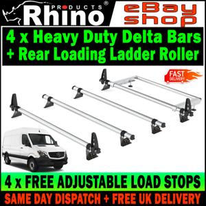 H2 L2-MWB L3-LWB L4-XLWB Rear Roller Mercedes Sprinter 2006-2017 Rhino Bars