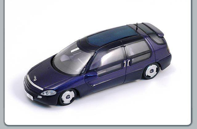 Funke s1011 - mercedes f100 konzept 1991 Blau - 1   43