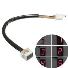 Kawasaki Motorcycle Universal Red LED Digital Gear Indicator Display Shift