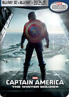 Captain America: The Winter Soldier (Blu-ray Disc, 2014, 3D Digital Copy SteelBook Only  Best Buy)