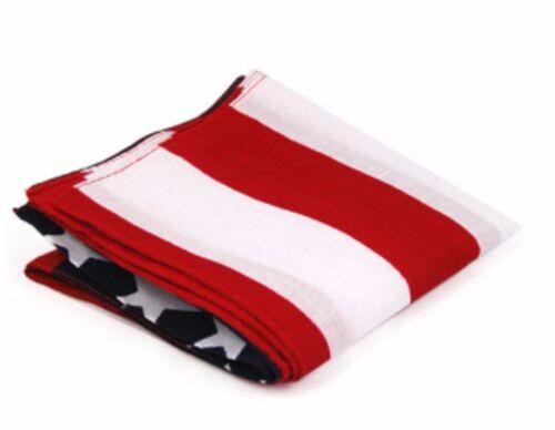 USA Stelle Bandiera americana Bandana Mans Fascia Per Capelli Donna Sciarpa Scialle Da Uomo America