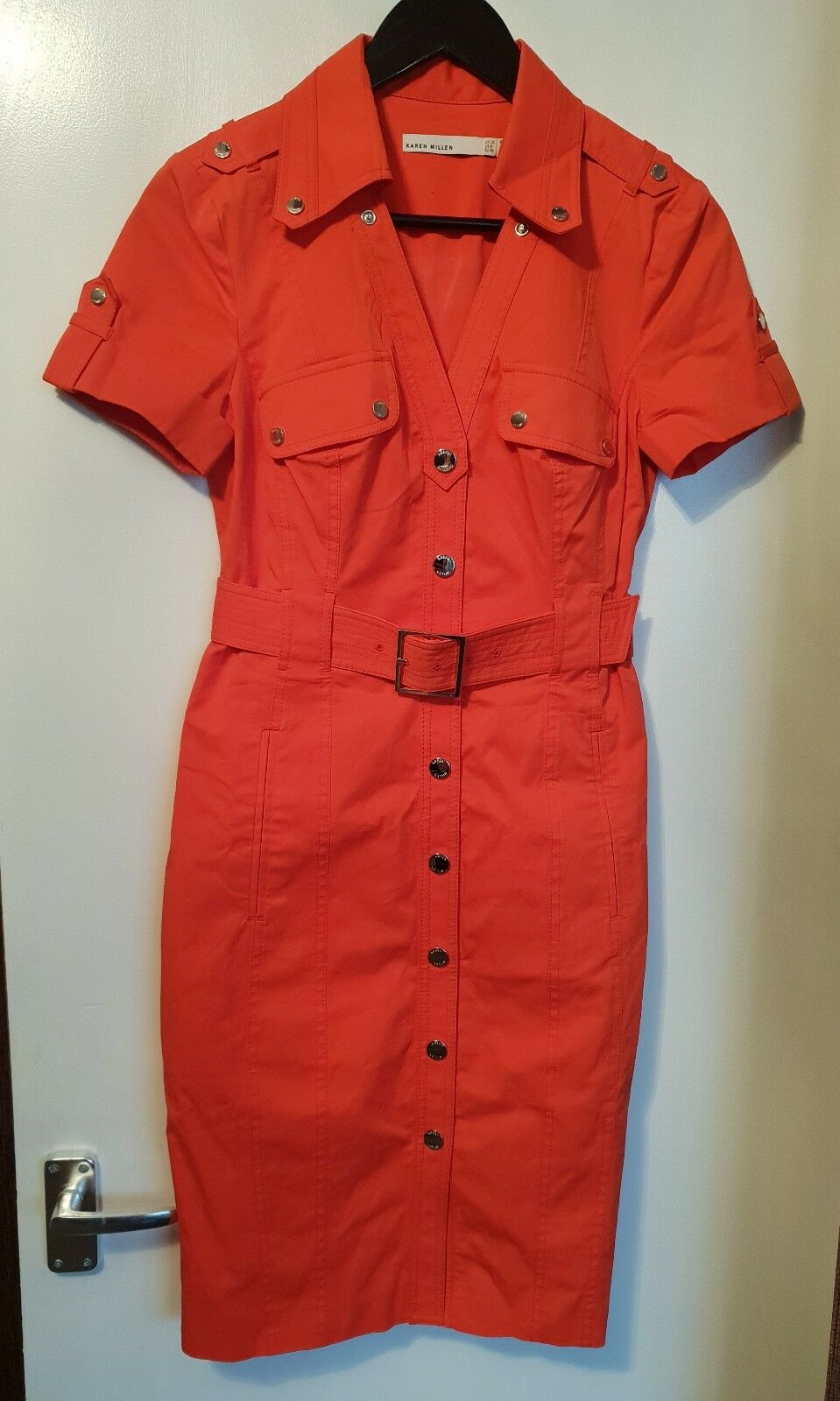 KAREN MILLEN red dress size