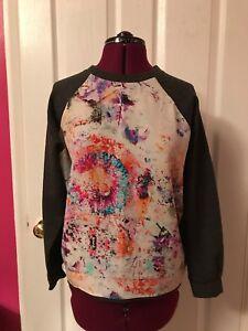 Sweatshirt Limited Edition Size Silk Front Unique Printed M OnkX80wP