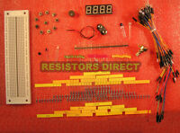 Electronic Project Starter Kit D Basic Breadboard,wire,led,resistor, Lm335