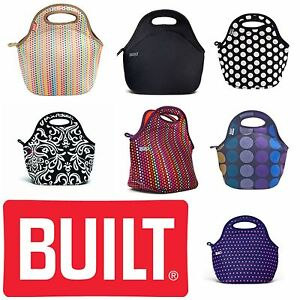 built neoprene gourmet lunch bag bento salad bowl 14 varieties you choose ebay. Black Bedroom Furniture Sets. Home Design Ideas