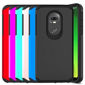 For Motorola Moto G7 Power G7 Supra Case Rugged Armor Hard Hybrid Phone Cover Ebay