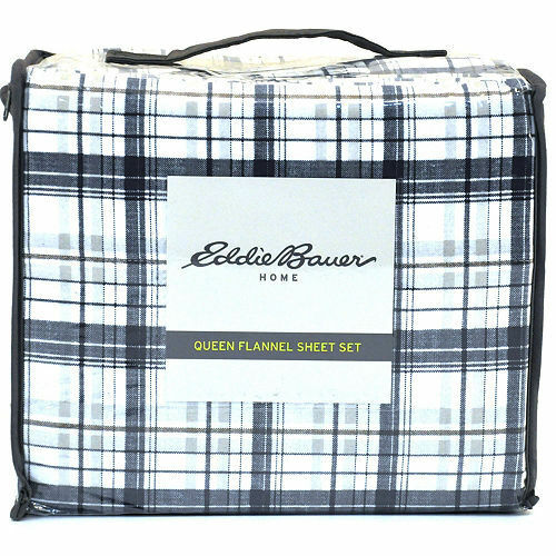 Choice of Size /& Color ~ NWT! Eddie Bauer Cotton Flannel Sheet Sets