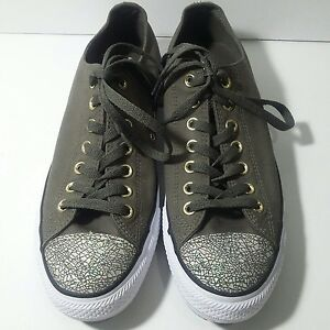 4e0469d3649e Converse All Star Size 11 Oil Slick Toe Cap Trainers Shoes Chucks ...