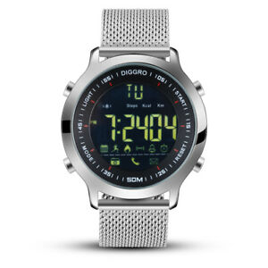 Reloj Inteligente Smartwatch 5ATM Impermeable Podómetro Notificar Android iOS ES
