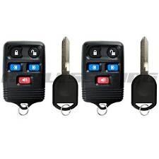 2x New Replacement Keyless Entry Remote Key Fob w/ Ignition Key for CWTWB1U511