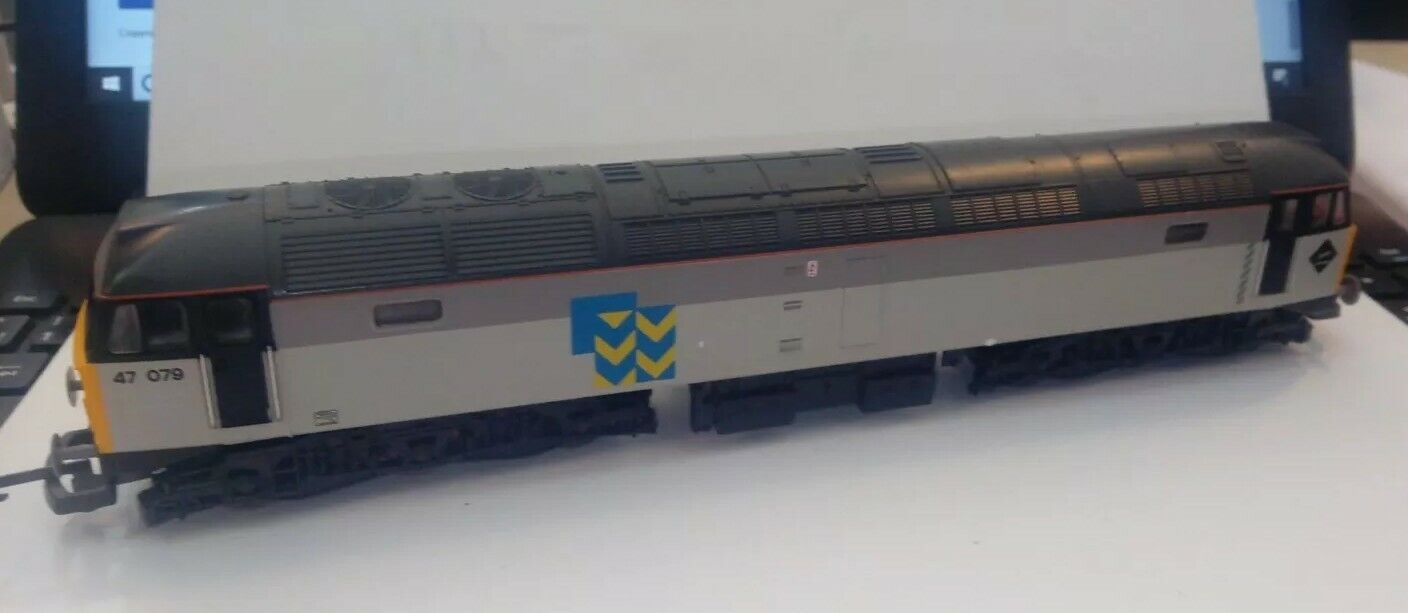 Lima 205266 Class 47 079  METALS  SUBSECTOR LIVERY, GOOD CONDITION