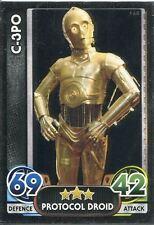 Star Wars Force Attax : Force Awakens Set 1 #168 C-3P0