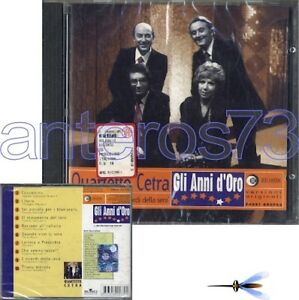 QUARTETTO-CETRA-034-GLI-ANNI-D-039-ORO-034-RARO-CD-1997-SIGILLATO