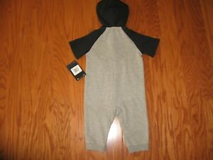 85912ad01ac1 Nike Futura Infant Coverall Hoodie Outfit 0-3M