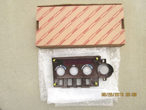 09-13 TOYOTA TUNDRA PLATINUM A//C HEATER CLIMATE CONTROL FACE PLATE NEW 0C680