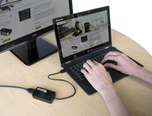 Plugable DisplayLink Monitor Adapter USB 3.0 to HDMI 2.0 for Windows