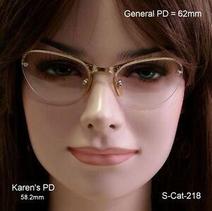 "SHURON ""CAT EYE"" 12k Gold Fill True Antique Eyeglasses & Case"