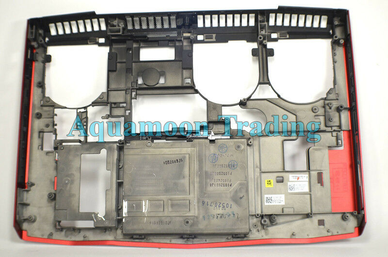 1988J OEM Dell Alienware M18x R1 R12 Red Laptop Bottom Cover Base Assembly