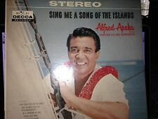 Alfred Apaka Sing Me A Song of the Islands LP