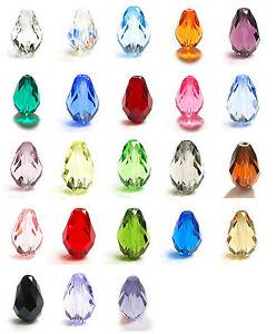2Pcs-SWAROVSKI-Elements-Crystal-5500-Teardrop-BEAD-10-5mm-x7mm-U-Pick-Color