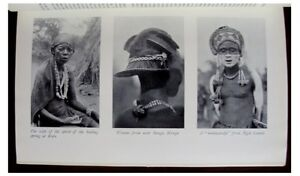 1927-Burton-BALUBA-TRIBES-Katanga-BELGIAN-CONGO-Pre-Dates-Book-PHOTOS-10