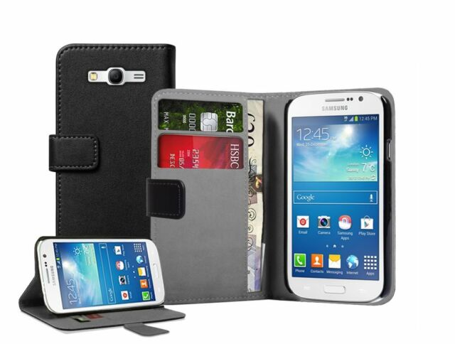 WALLET Leather Flip Case Cover Pouch for Samsung Galaxy Grand Neo GT-i9060