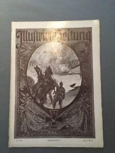 """16.12.1915 72 """"illustrirte Zeitung"""" Verlag J J Aggressiv Weber Kriegsnr"""
