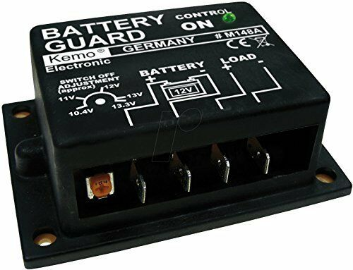 12v Battery Discharge Protector:  Battery Guard - 20 amp