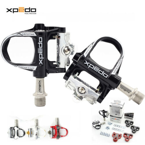 XRF07MC Road Bike Sealed Ultralight Pedals Look Keo Compatible Xpedo THRUST 7