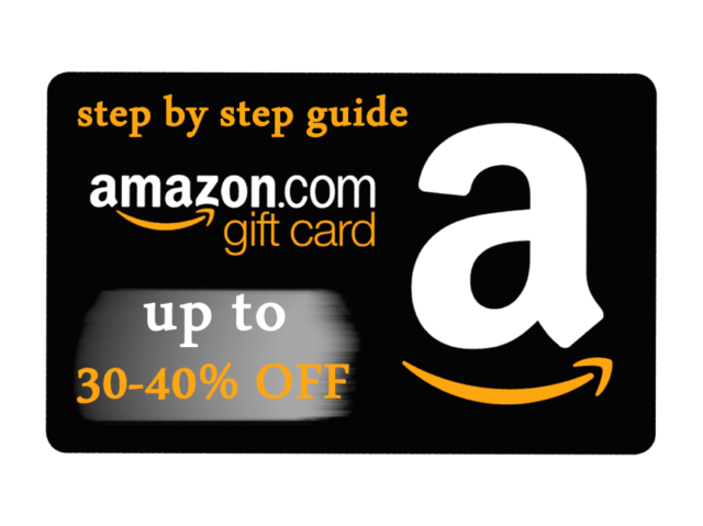NEW GUIDE GET UP TO 40-50% OFF DISCOUNT ON AMAZON GIFT CARDS PDF GUIDE ✅✅