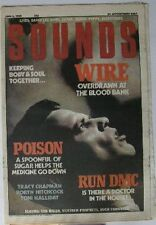 UK Sounds  4.6.88 Wire Robyn Hitchcock Toni Halliday