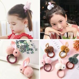 Cute Rabbit Ears Hair Band Children Kids Accessories Elastic Girl Rubber J