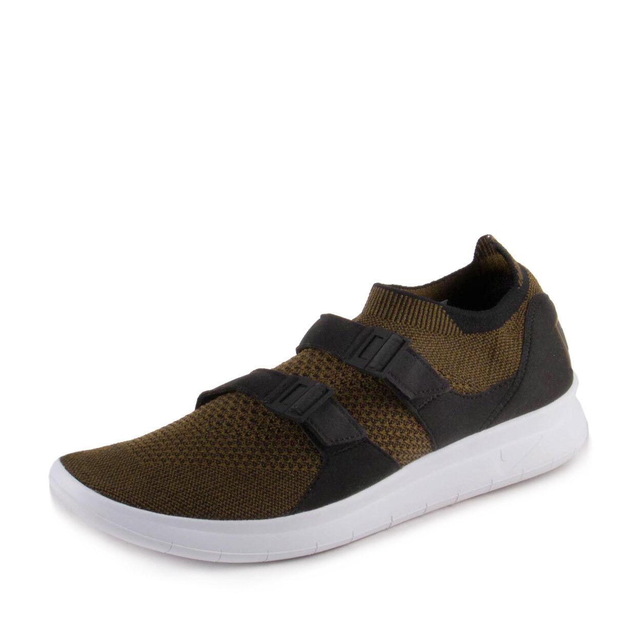 Nike Para Hombre Air sockracer sockracer sockracer Flyknit Negro/Oliva-Blanco 898022-002 2542d0