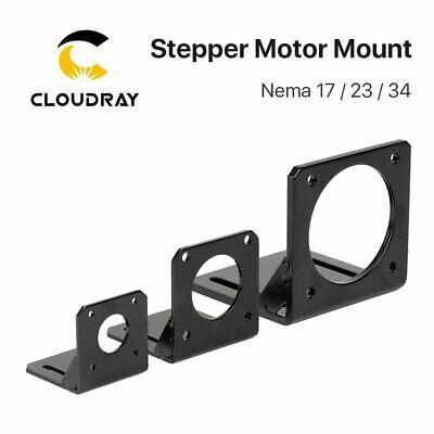 For 42mm NEMA 17// 57mm NEMA23 Stepper Motor of CNC Aluminum Mounting Bracket New