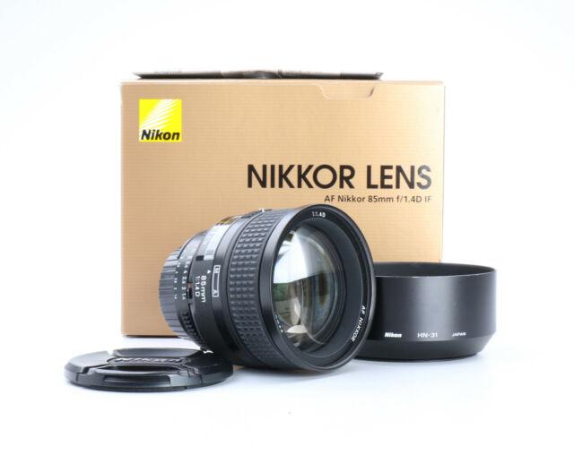 Nikon AF Nikkor 85 mm 1.4 D + Sehr Gut (224787)