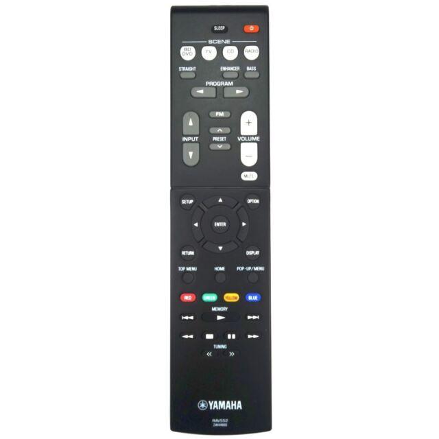 Véritable Yamaha HTR-2071 Av Récepteur Télécommande