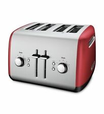 KitchenAid Refurbished 4-Slice Toaster with Manual High-Lift Lever, RKMT4115