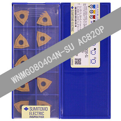10pcs SUMITOMO WNMG080404N-GU AC820P WNMG431EGU carbide inserts Free Shipping