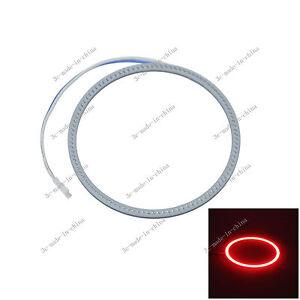 White 90mm//3.54in 81 Chips Car COB Led Angel Eyes Halo Ring Light 9V-30V O090