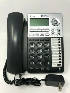 AT/&T ML17939 2-Line Corded Telephone with Digital Answering System and Caller ID