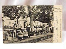 Circa 1900-09, Costumbres Chilenas, Venta de Pascua, Chile Vintage Postcard P27