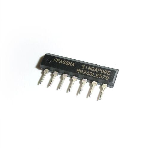5 X uPA68HA PA68HA UPA68 Integrated Circuits ZIP-7
