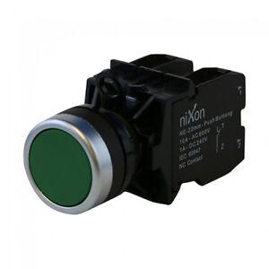Green-Push-Button-22mm